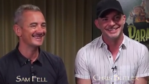 Video Interview…'ParaNorman' Writer/Co-Directors Chris Butler & Sam Fell