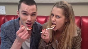 Interview…'Warm Bodies' Stars Nicholas Hoult and Teresa Palmer