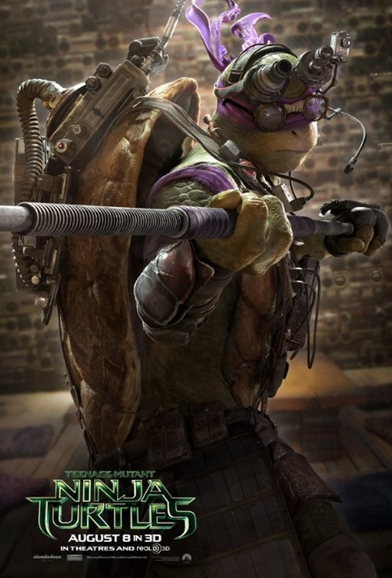 Teenage Mutant Ninja Turtles_Theatrical Donnie