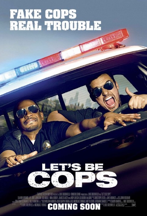 Let's Be Cops Theatrical