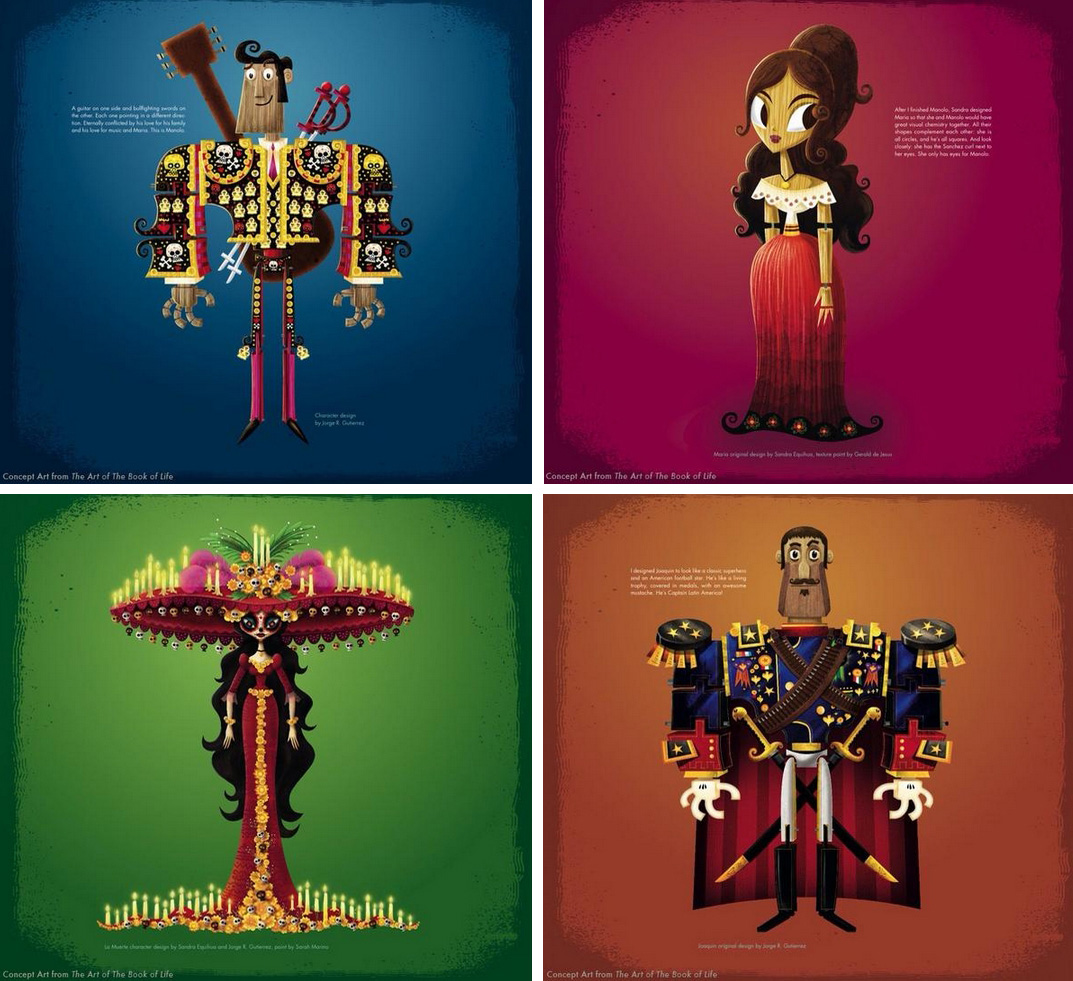 the book of life characters the image