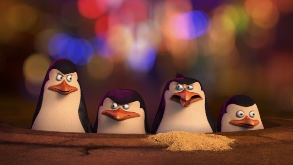 Penguins of Madagascar Banner