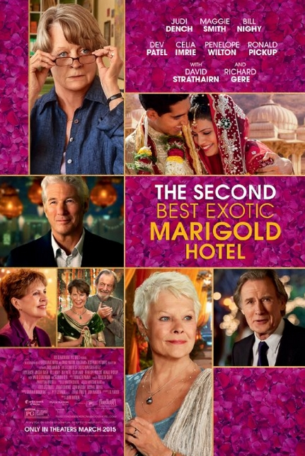 The Second Best Exotic Marigold Hotel Theatrical