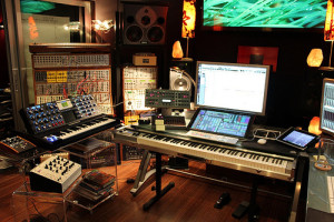 Junkie XL studio Command Center