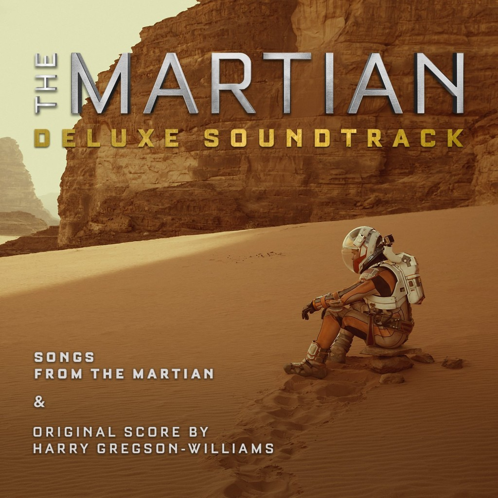 The Martian Deluxe Soundtrack front