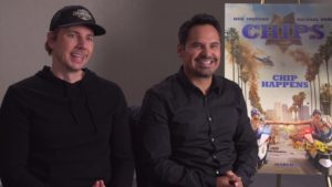 Video Interview…Dax Shepard and Michael Peña Breathe New Life Into 'CHIPS'